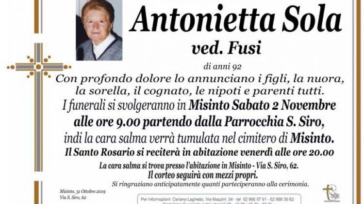 Sola Antonietta
