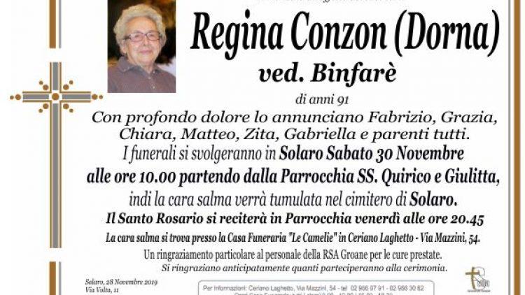 Conzon Regina
