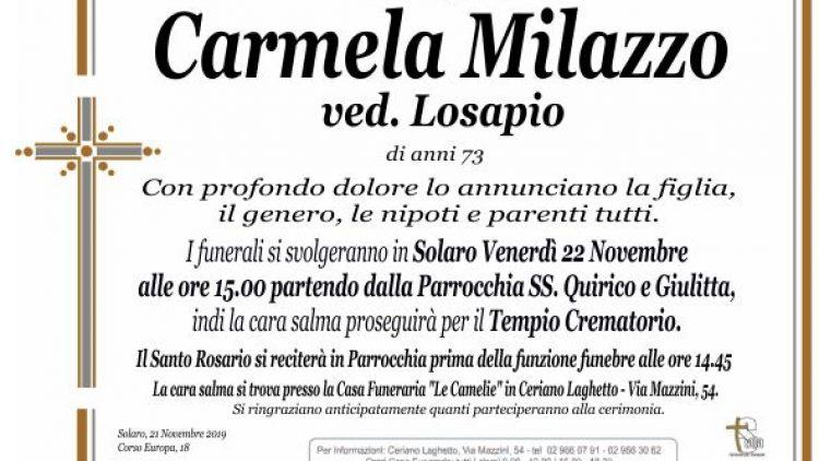 Milazzo Carmela