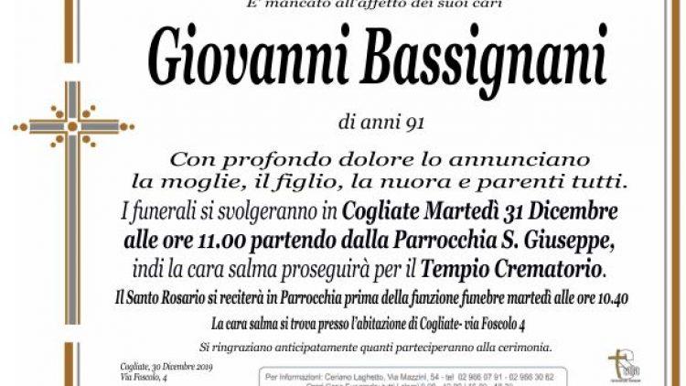 Bassignani Giovanni