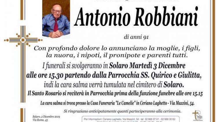 Robbiani Antonio