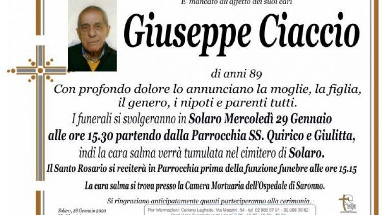 Ciaccio Giuseppe