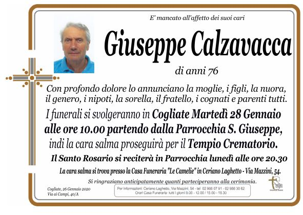 Calzavacca Giuseppe