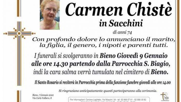 Chistè Carmen