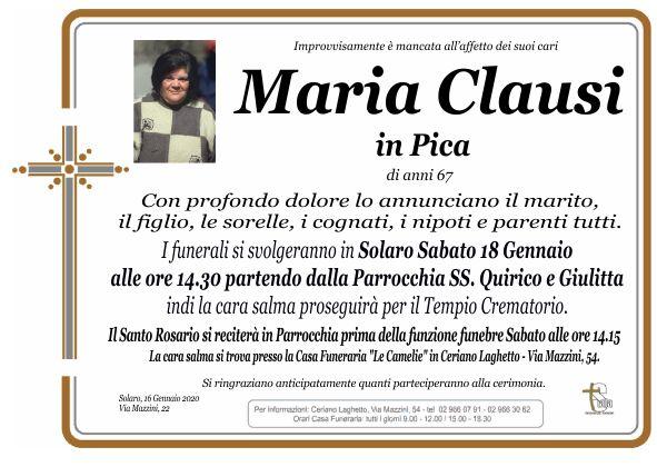 Clausi Maria