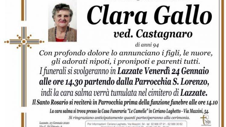 Gallo Clara
