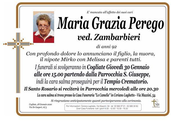 Perego Maria Grazia
