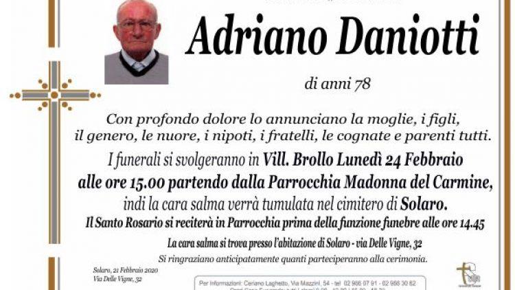 Daniotti Adriano