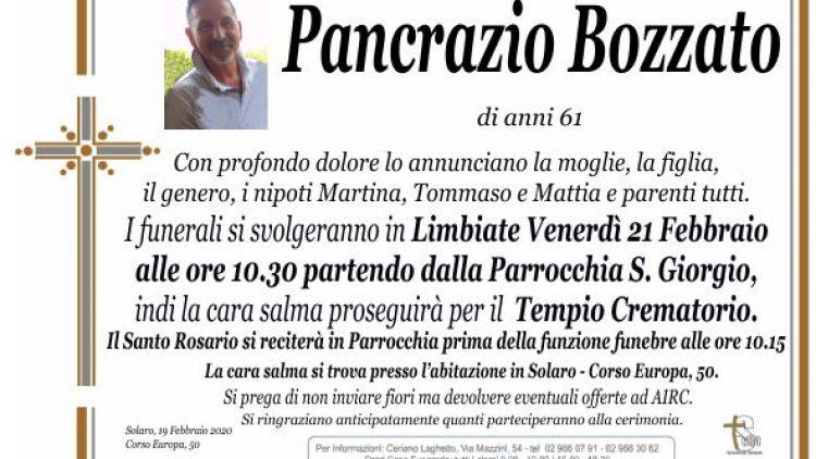 Bozzato Pancrazio