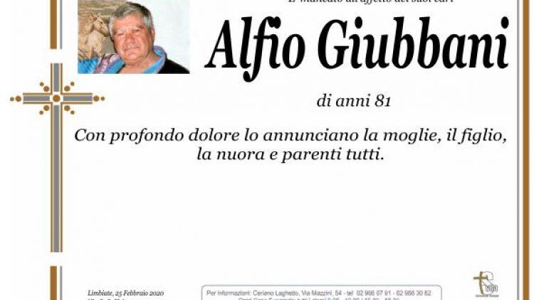 Giubbani Alfio