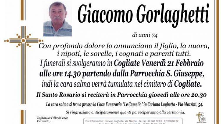Gorlaghetti Giacomo