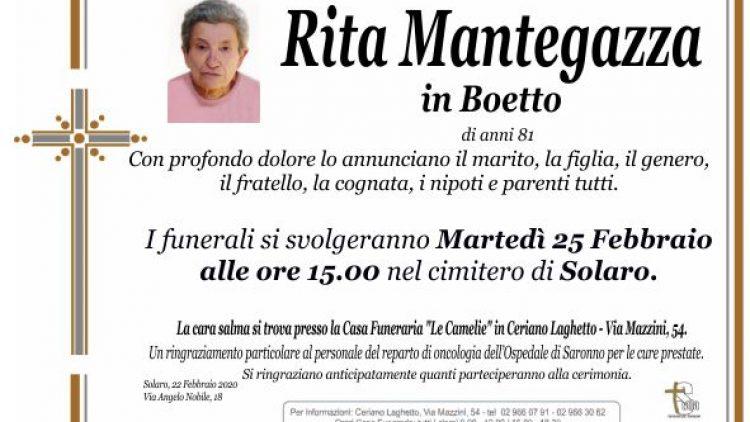 Mantegazza Rita