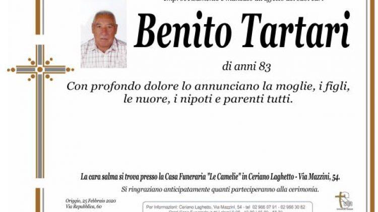 Tartari Benito