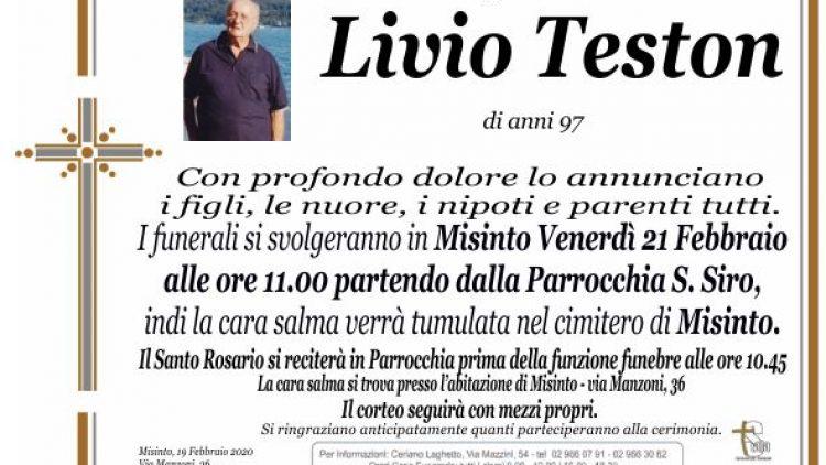 Teston Livio
