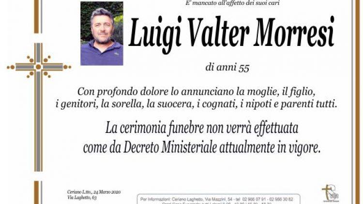 Morresi Luigi Valter