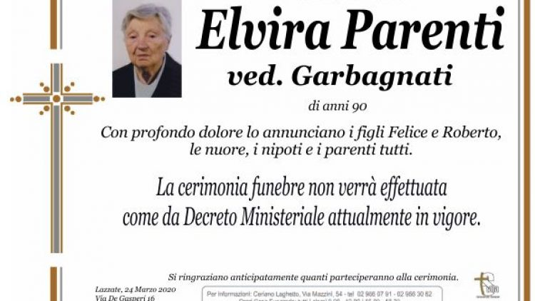 Parenti Elvira