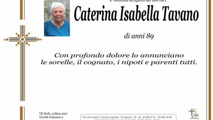Tavano Caterina Isabella