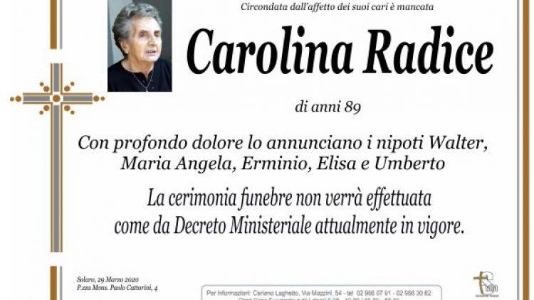 Radice Carolina