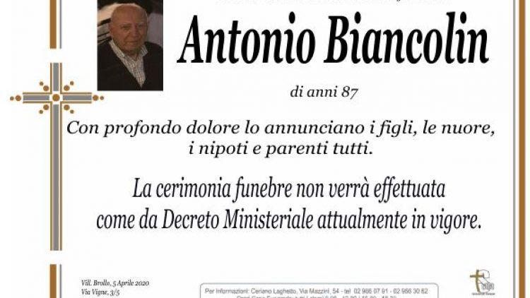 Biancolin Antonio