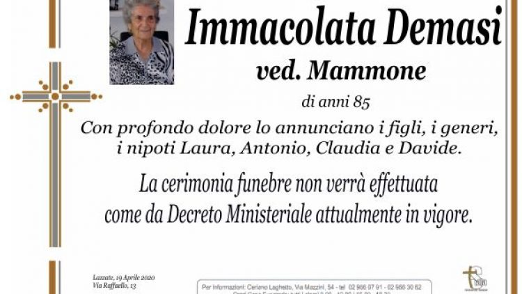 Demasi Immacolata