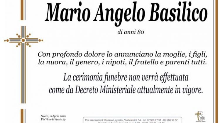 Basilico Mario Angelo