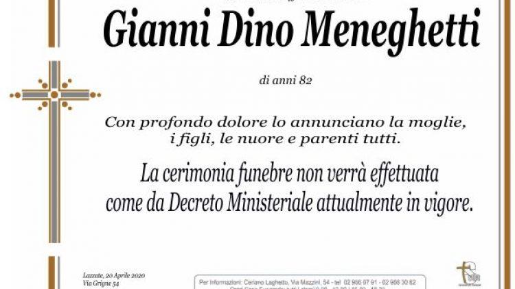 Meneghetti Gianni Dino