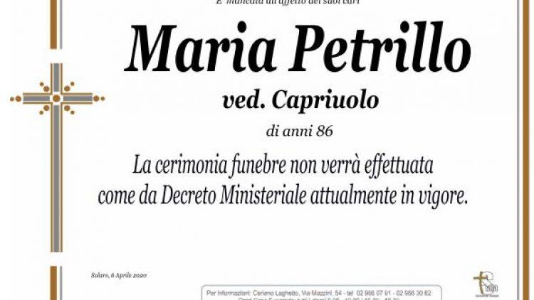 Petrillo Maria