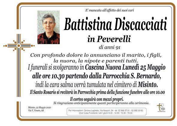 Discacciati Battistina