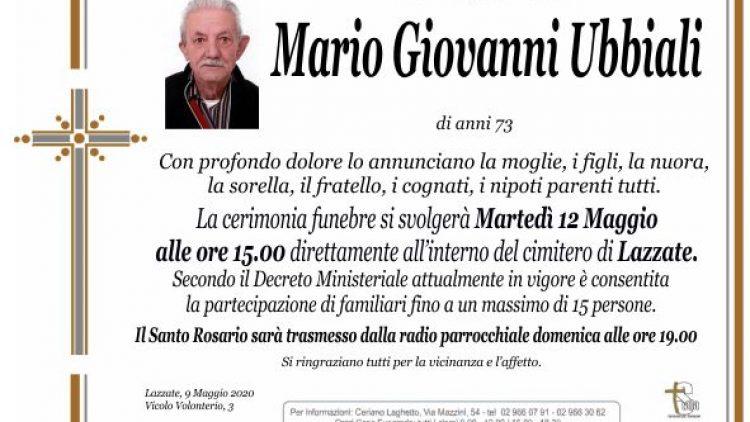 Ubbiali Mario Giovanni