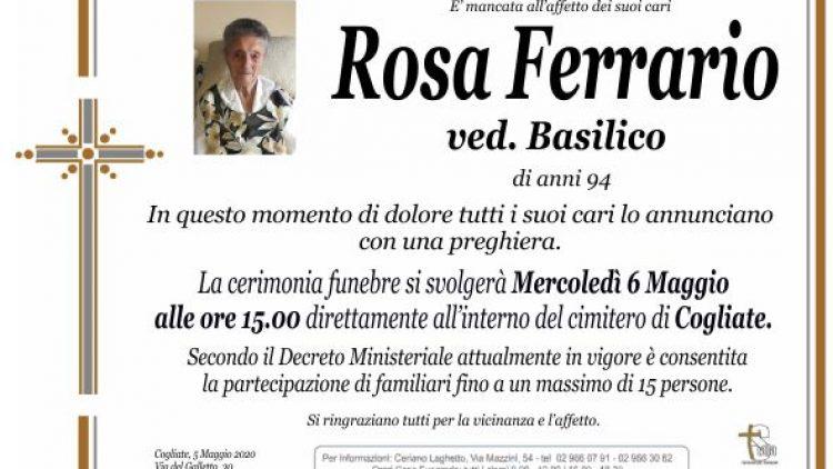 Ferrario Rosa