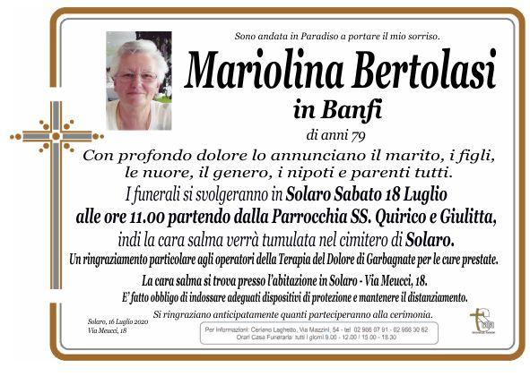 Bertolasi Mariolina