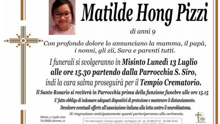 Pizzi Matilde Hong