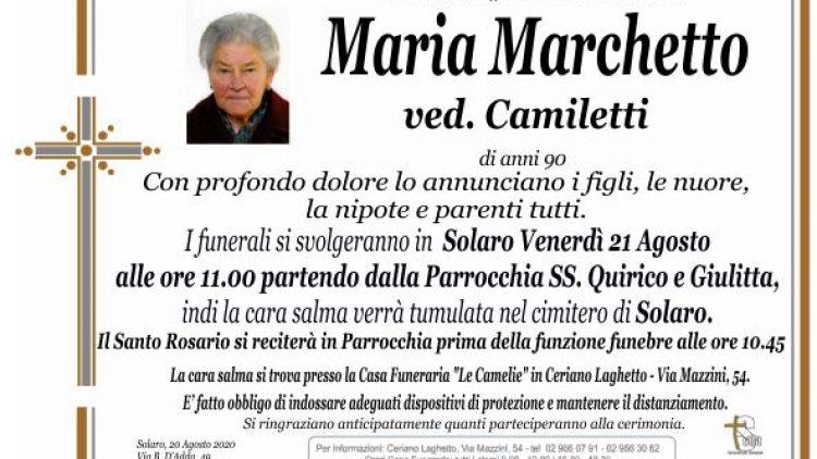 Marchetto Maria