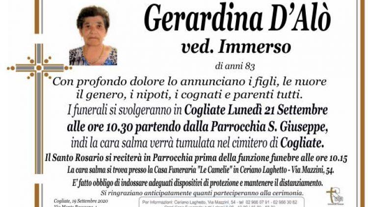 D'Alò Gerardina
