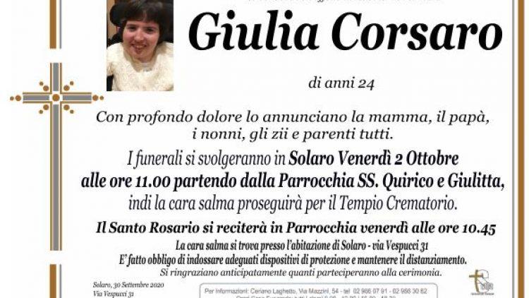 Corsaro Giulia