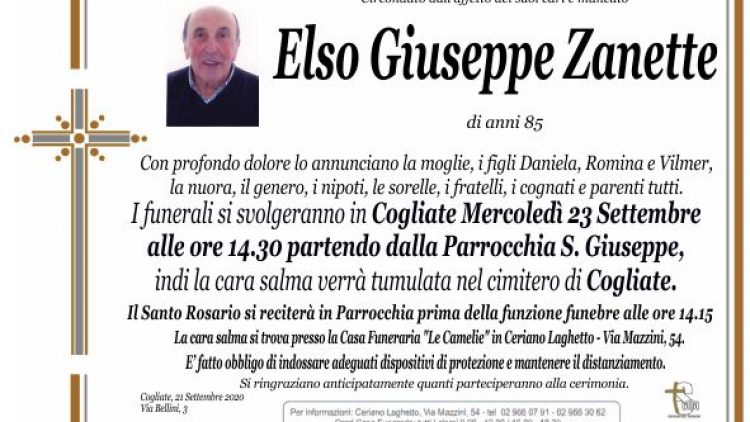 Zanette Elso Giuseppe