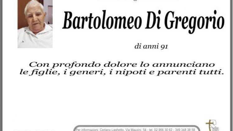 Di Gregorio Bartolomeo