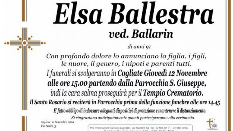 Ballestra Elsa