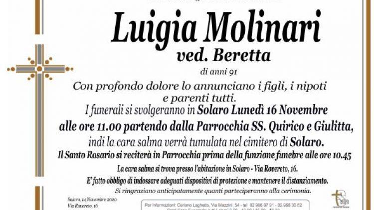 Molinari Luigia