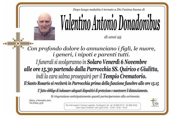 Donadonibus Valentino Antonio