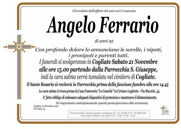 Ferrario Angelo