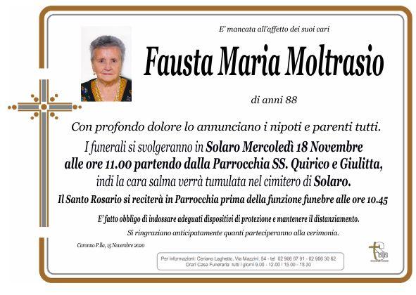 Moltrasio Fausta Maria