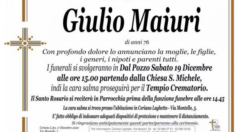 Maiuri Giulio