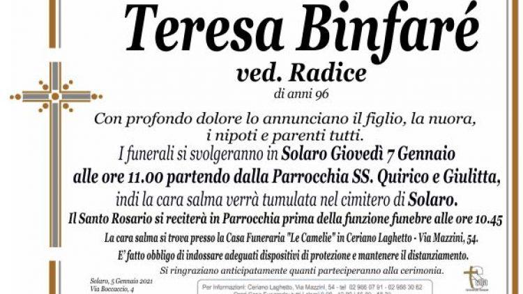Binfaré Teresa