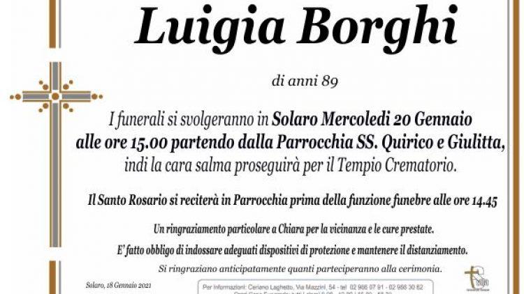 Borghi Luigia
