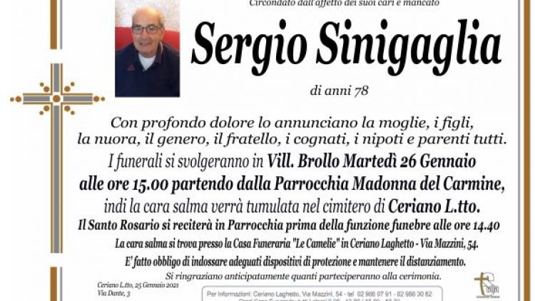 Sinigaglia Sergio