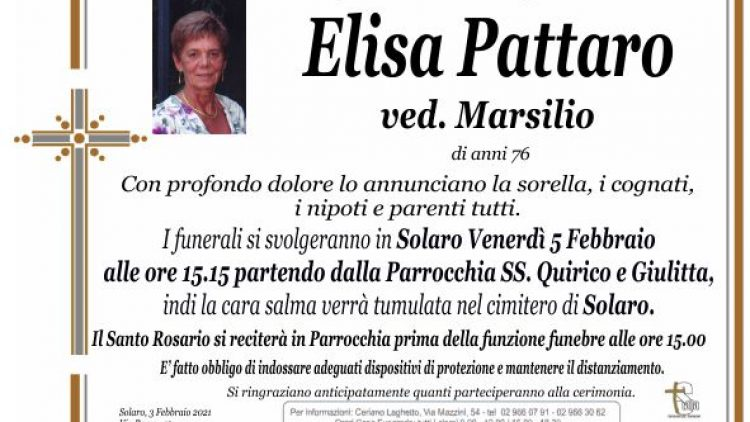 Pattaro Elisa