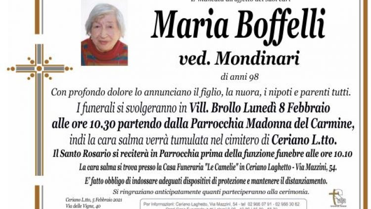 Boffelli Maria