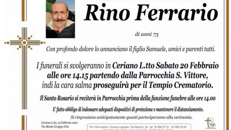 Ferrario Rino