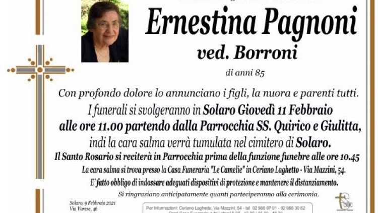 Pagnoni Ernestina